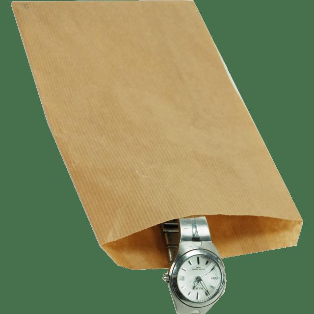 Brązowa papierowa torebka