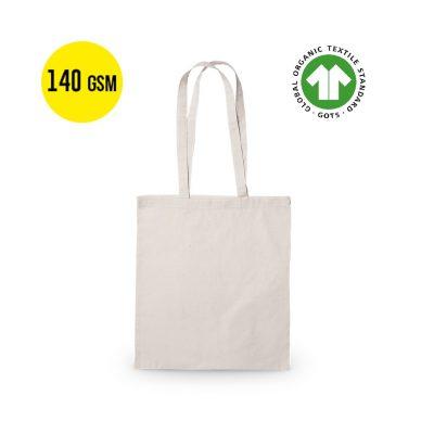 50 sztuk Bawełniana Torba na Zakupy Ekologiczny, Jakość 140 Gramów, Rozmiar 37x41 cm