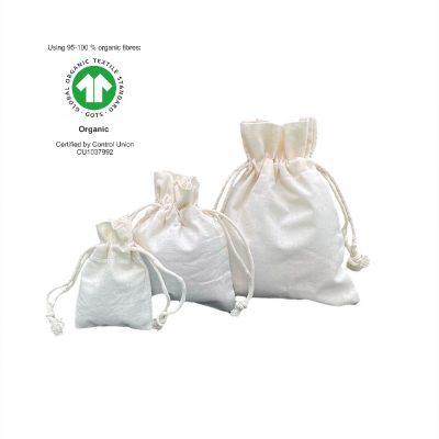Ekologiczne torby bawełniane 116 gr m2